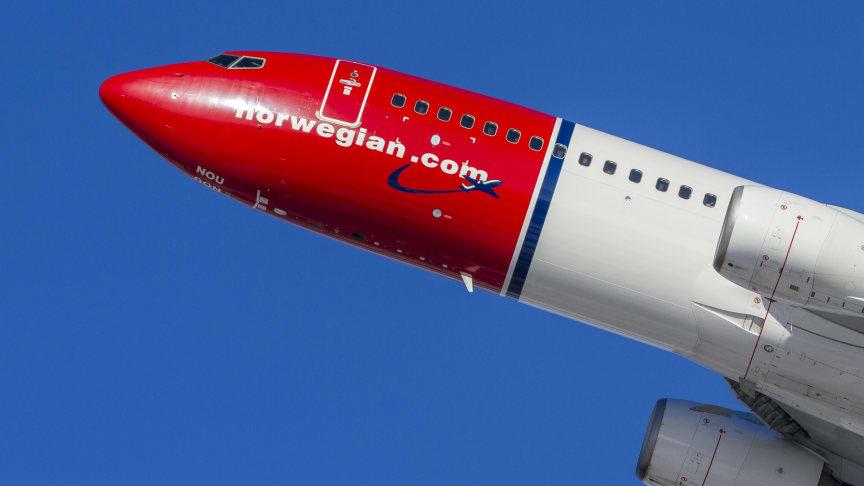 Norwegians Boeing 737-800.