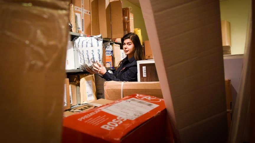 Posten har over 1300 Post i Butikk landet over. I 2021 flyttes noen av disse til andre butikker. Foto: Birger Morken