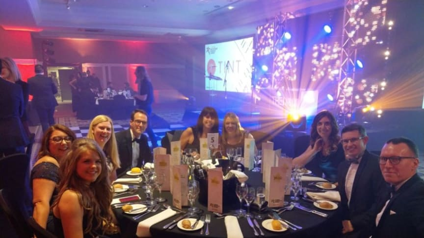 Finegreen at the Recruitment Business Awards 2017!