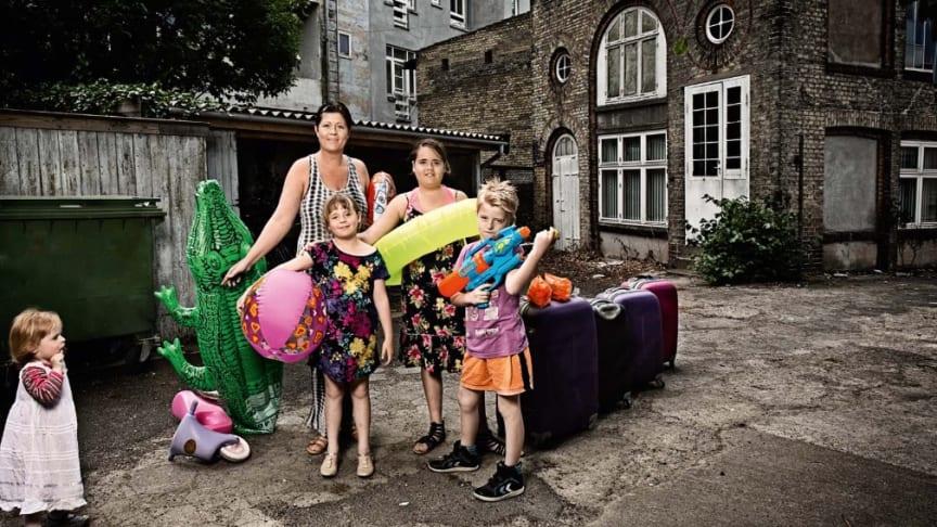Dansk Folkehjælp har sendt udsatte familier på ferie herhjemme gennem de sidste 80 år