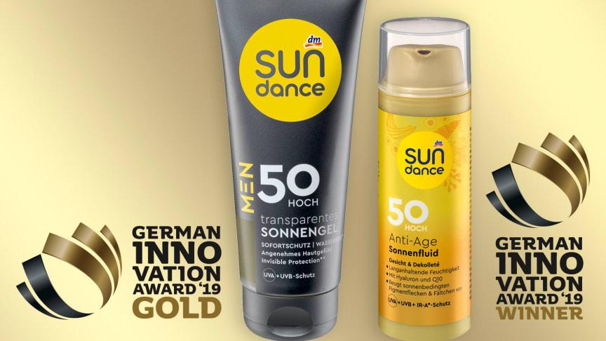 Doppelte Auszeichnung für dm – SUNDANCE gewinnt bei German Innovation Award