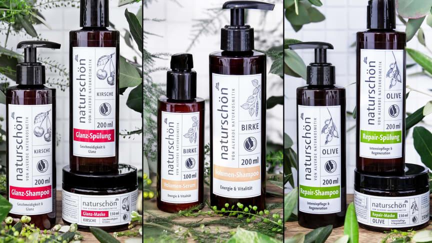 Die neue naturschöne Haarpflegelinie von alverde NATURKOSMETIK mit holistischem Wirkstoffansatz