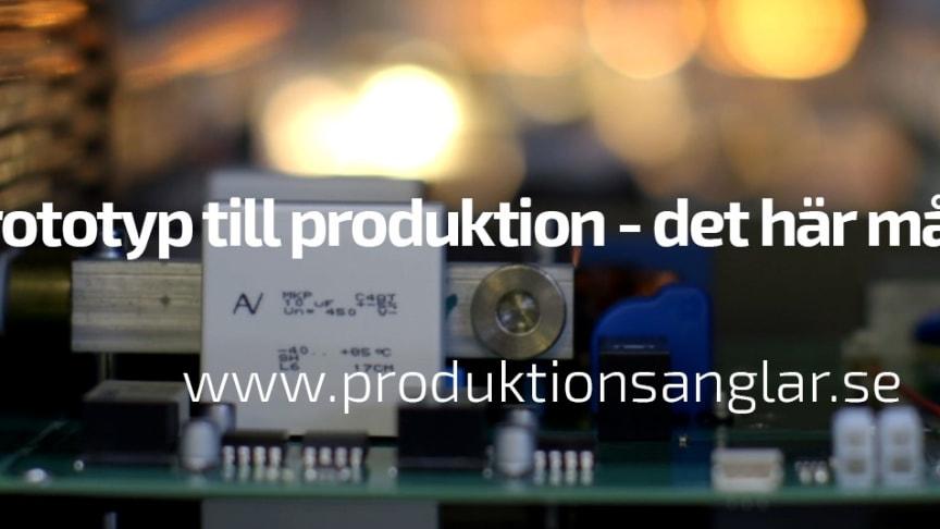 Har du en innovativ produkt och behöver stöd att gå från prototyp till produktion?
