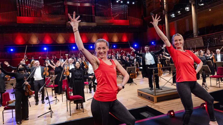 Friskis&Svettis Stockholm med Kungliga Filharmonikerna. Foto: Yanan Li
