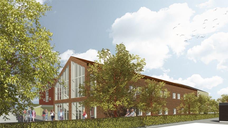 Det nya Multihuset kommer att innehålla ateljéer och ljudstudior samt salar för dans, teater och föreläsningar.