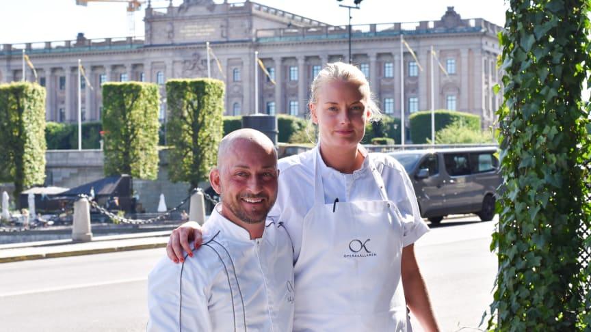 Stefano Catenacci och Cecilia Kvist