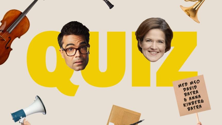 Quiz med MSO, David Batra och Anna Kinberg Batra