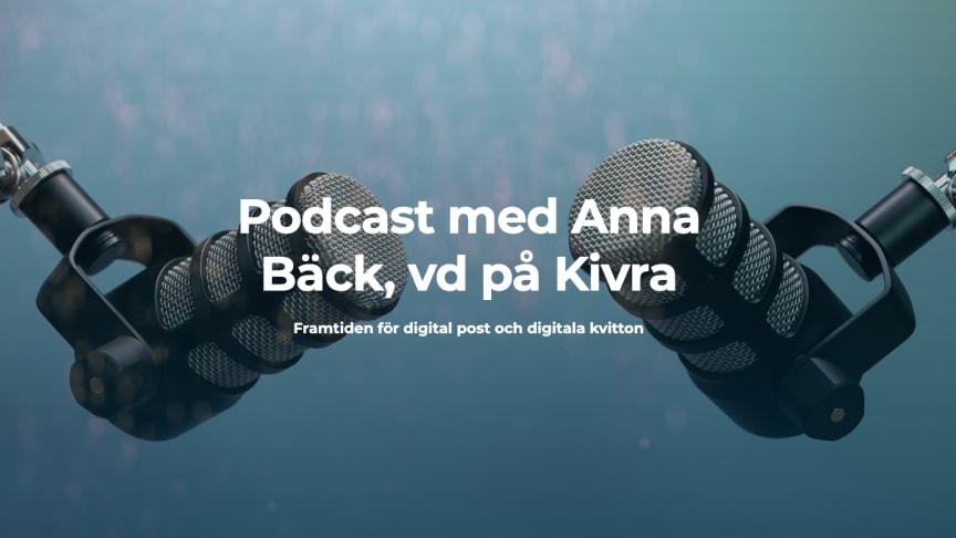 Anna Bäck gästar Digitala influencer-podden
