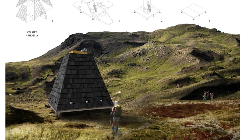 Architecture students keep on trekking!