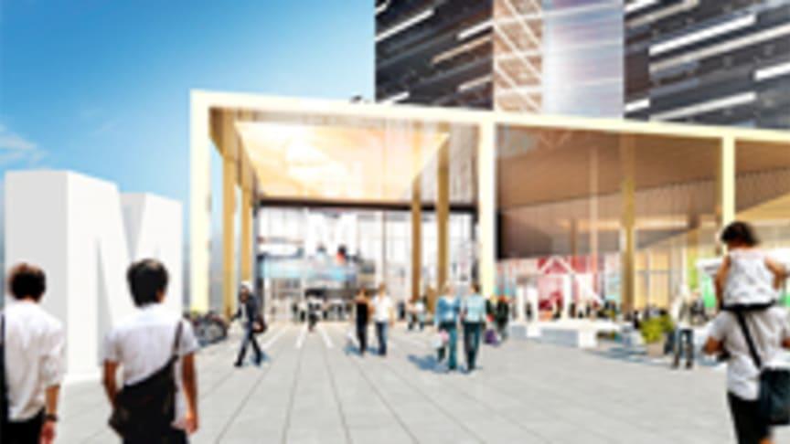 Startskott för Mall of Scandinavia i Solna