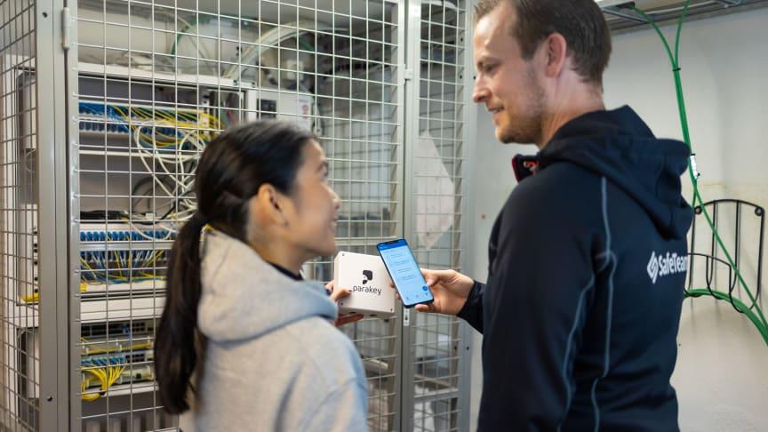 SafeTeam installerar passersystem med mobil access från Parakey hos de allmännyttiga bostadsbolagen i Göteborg.