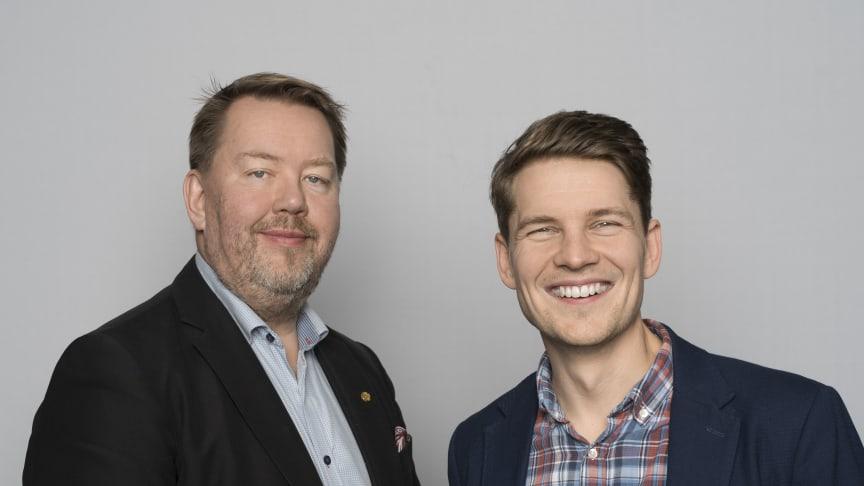 Pär Dunder och Per Olofsson