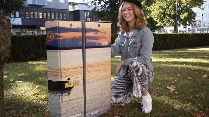 Vinnare i #mittelskåp: Rebecca Hektor