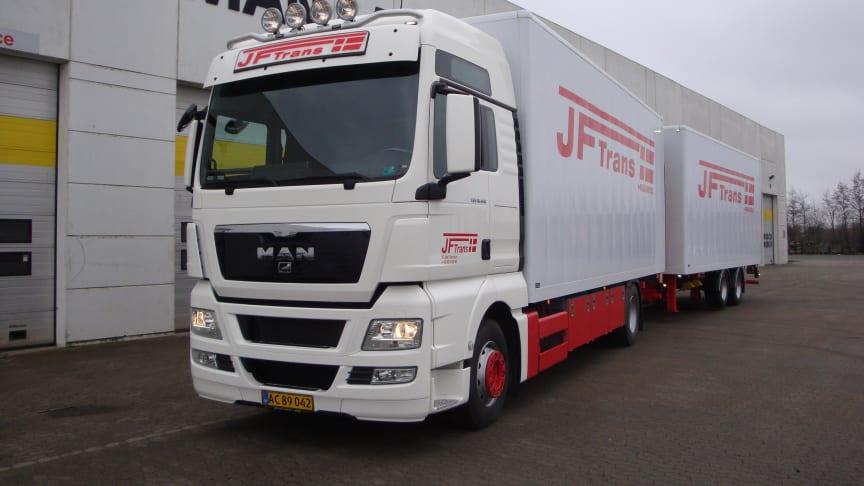 Ny møbeltransporter til JF Trans