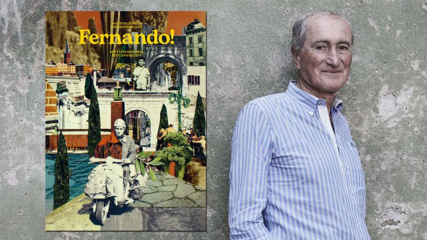 Grundaren av Zeta, Fernando Di Luca, ger ut en kombinerad biografi och kokbok den 12 oktober.