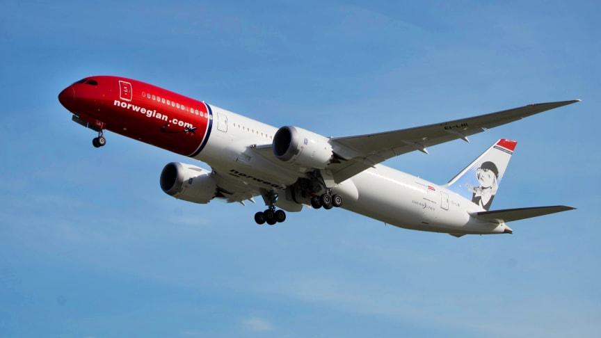 Amerikanska myndigheter ger Norwegians EU-bolag flygtillstånd