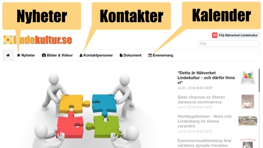Veckans kulturnyheter från Lindesberg (vecka 31-32)