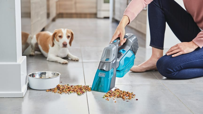 BLACK+DECKER™ Introduces the spillbuster™ Cordless Spill + Spot Cleaner To Tackle Wet And Chunky Messes