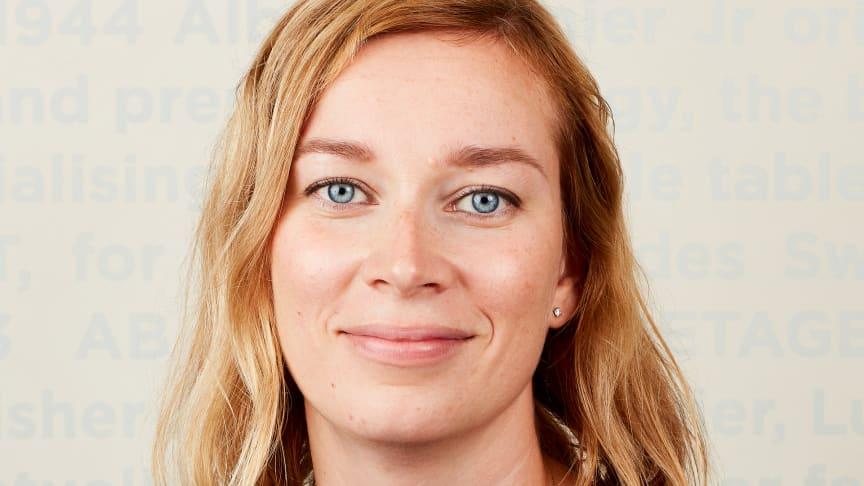 Sara Björnberg, Chef Hållbar Utveckling.
