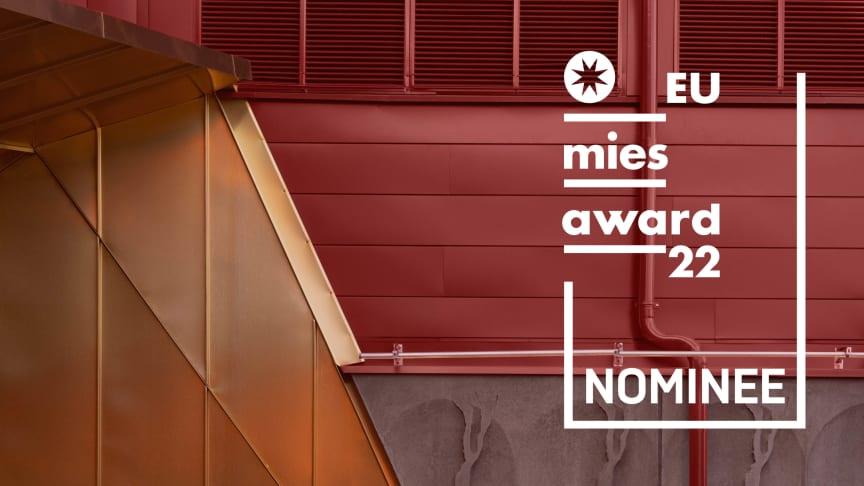 Kunskapshuset är nominerat till EU Prize for Contemporary Architecture – Mies van der Rohe Award 2022