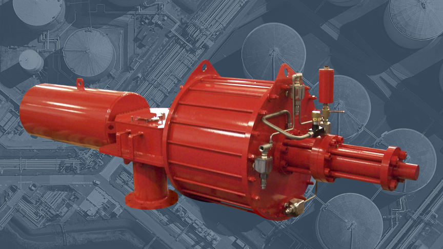 Rotork's GP heavy-duty scotch yoke actuators have been installed at a South Korean LNG Terminal.
