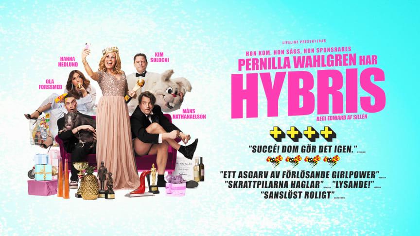 Pernilla Wahlgren tar Hybris till Partille Arena 2022!