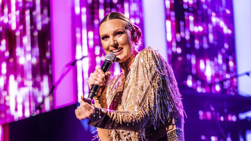 Sanna Nielsen kommer med sin show till Helsingborg Arena 5 oktober.
