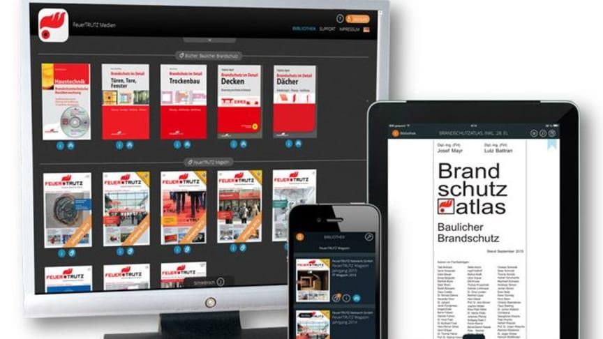 FeuerTRUTZ Medien – die mobile Brandschutzbibliothek
