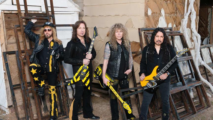 Amerikanska Stryper är ett av de band som kommer till Sweden Rock Festival i sommar.