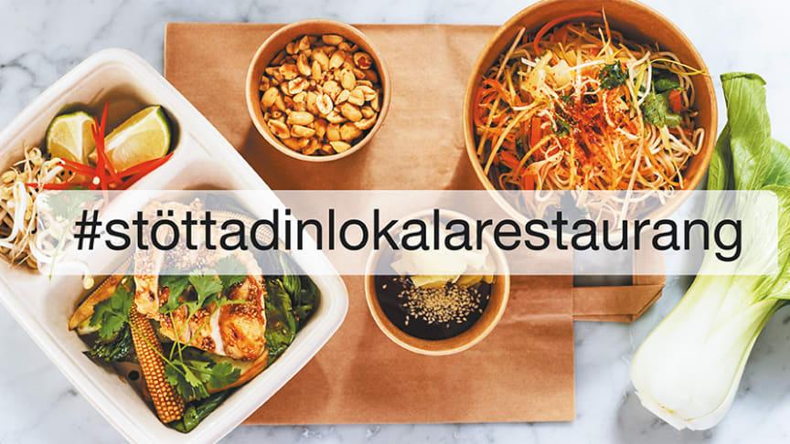 Kampanj för att stötta restaurangbranschen