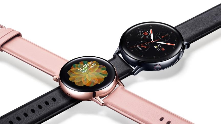 Samsung Galaxy Watch Active2 i butik – en smartare och mer personlig uppföljare