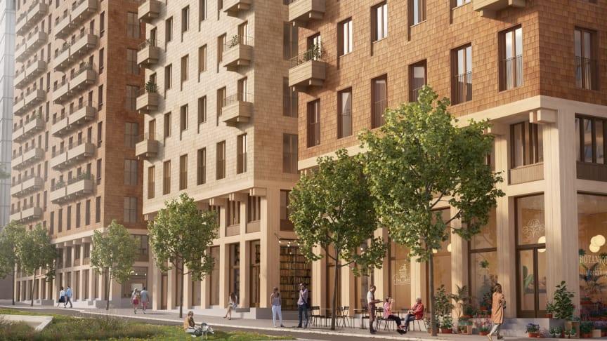 Nu byggs Cederhusen, för ett friskare Stockholm