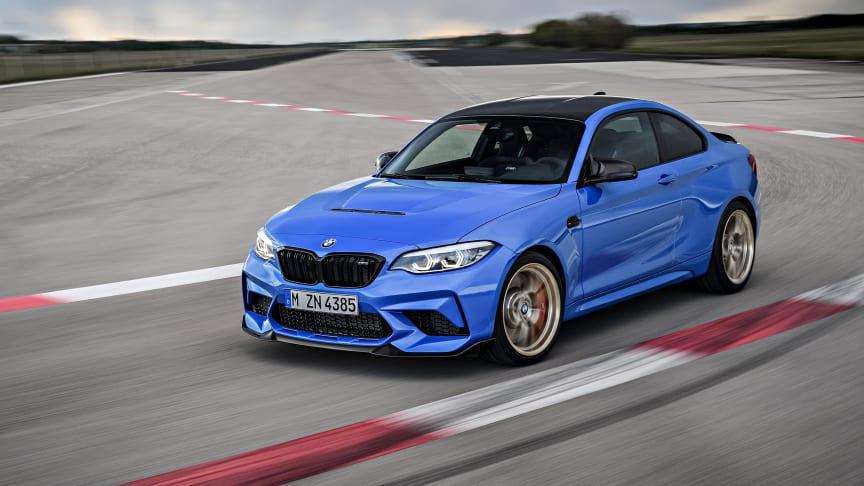 Nye BMW M2 CS: Kjøremaskin i begrenset opplag
