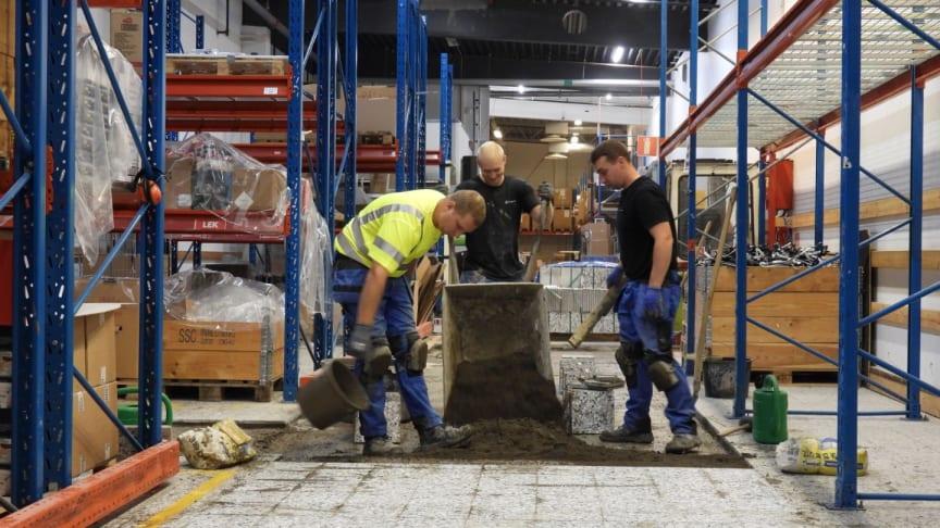 Golvimporten tar ett viktigt steg framåt för en sund konkurrens i byggbranschen