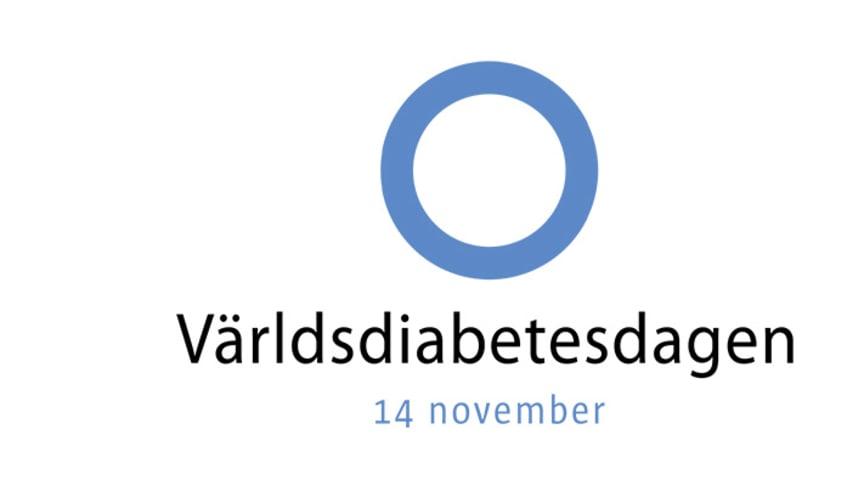 Diabetes angår alla - Världsiabetesdagen 14 November