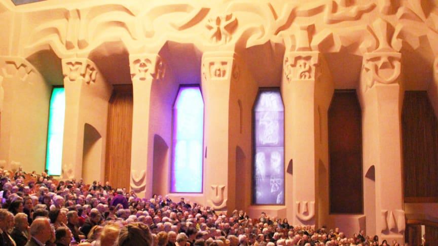 Großer Saal des Goetheanum: Jahrestagung und Generalversammlung 2018 (Foto vom 22. März 2018)