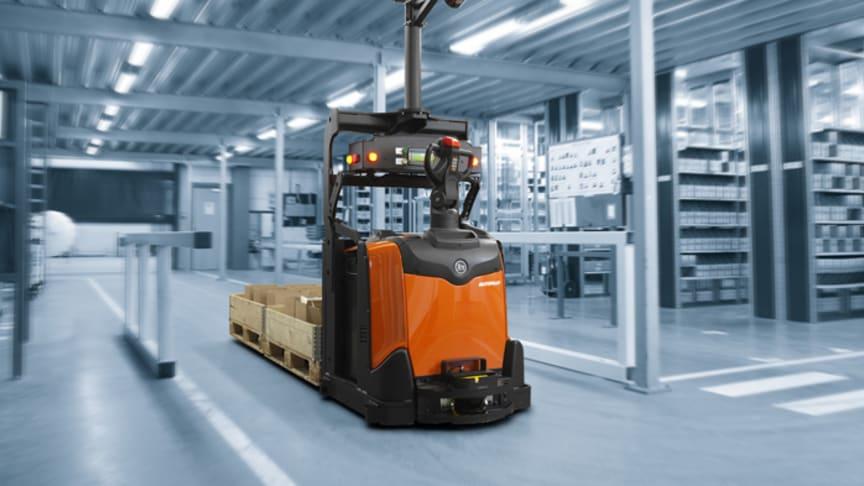 För att optimera effektiviteten och flexibiliteten i ditt lager, erbjuder vi olika typer av automation. Tack vare våra automatiserade truckar kan du minimera skador och arbetskostnader.
