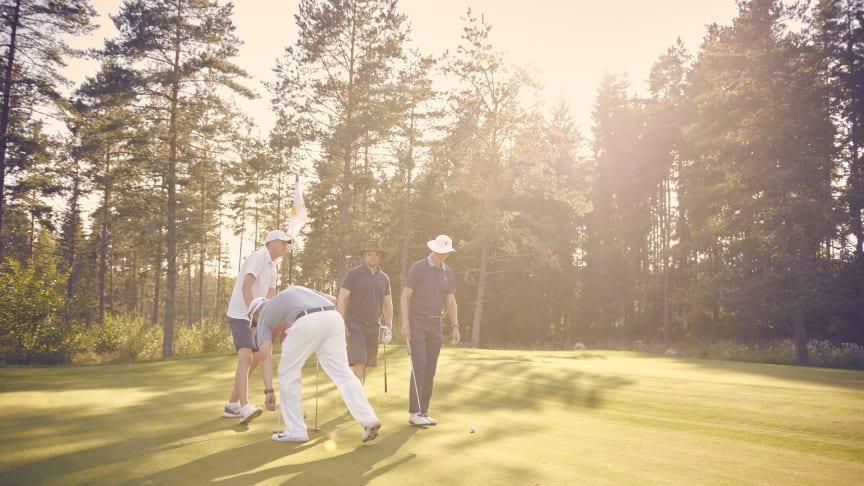 Golf som underlättar vardagen för barn som drabbats av cancer