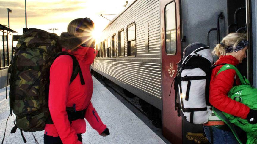 Snart släpper SJ biljetter för vinterns resor med nattågen