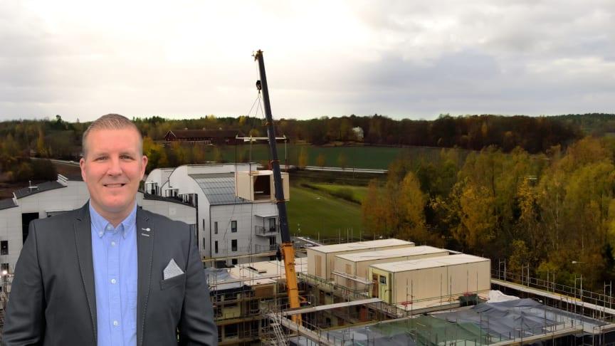 Jens Erneholt, ny produktchef för Sizes