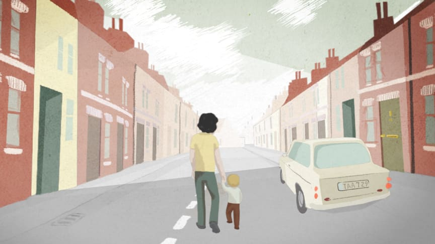 Animation from the film Irene's Ghost