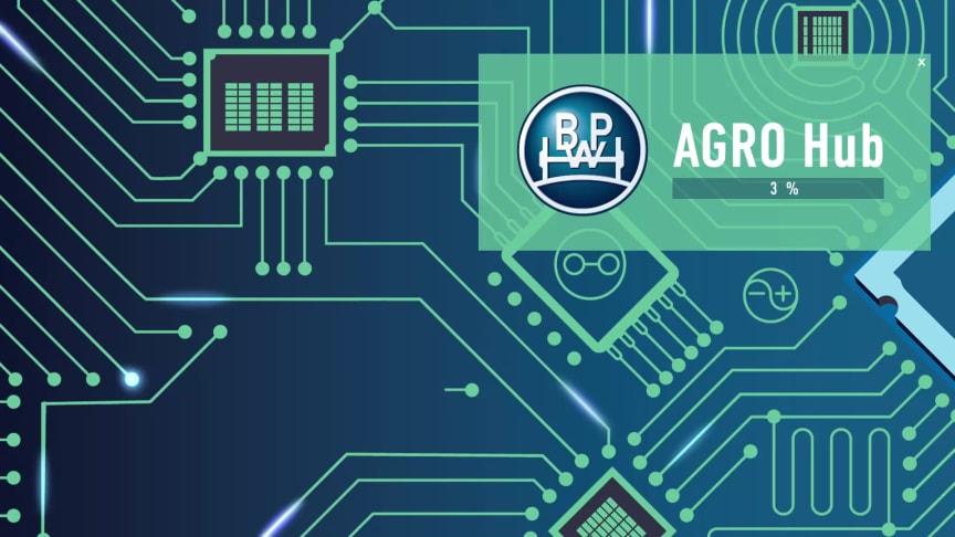 BPW AGRO Hub mit integriertem Wiegesystem