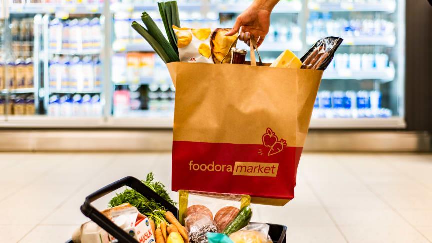 Tre nya foodora markets etableras i tre städer