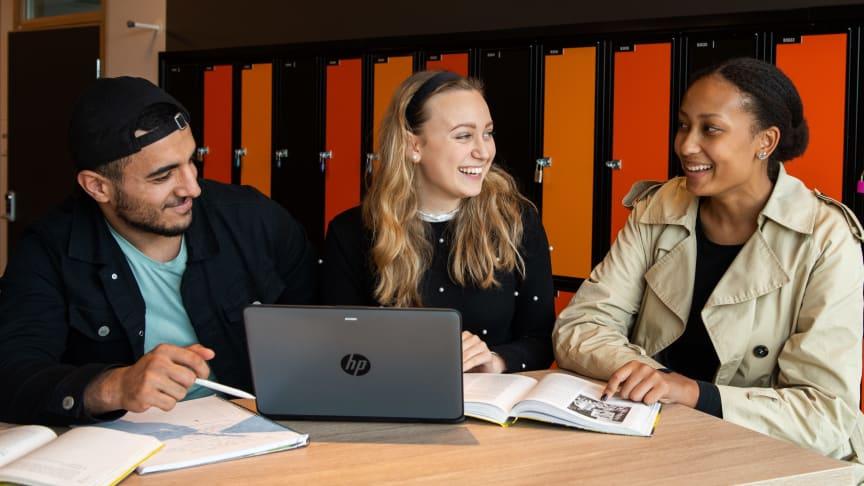 Samhällsvetenskapsprogrammet på Sundsta-Älvkullegymnasiet har 203 förstahandssökande.
