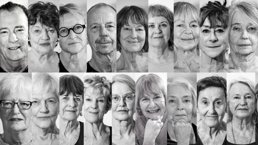 Charlotta Öfverholm tar 21 äldre amatörer till scenen