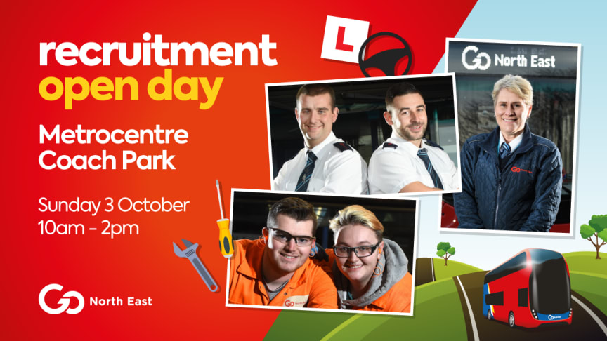 Go North East gears up for recruitment drive at Metrocentre open day