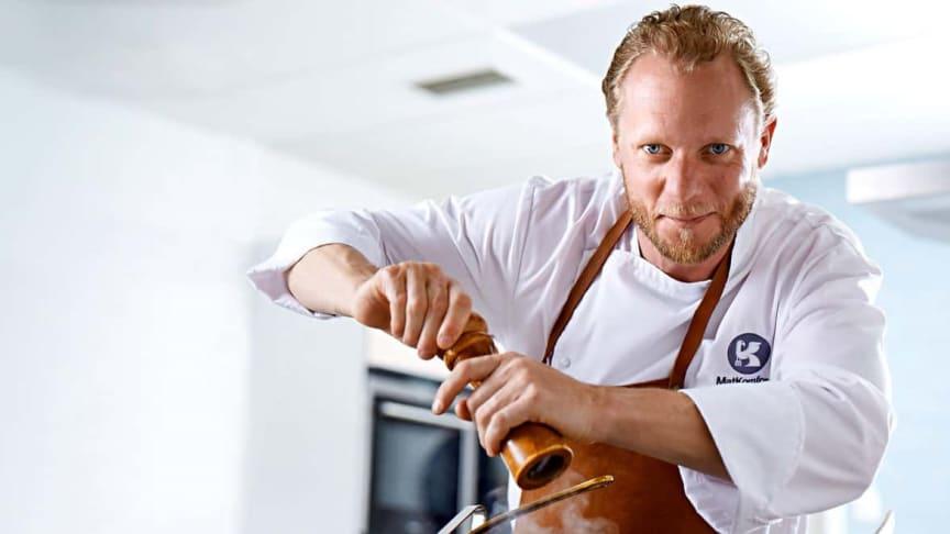 Henrik Isaksson, kock och grundare av Matkomfort. Källa: matkomfort.se