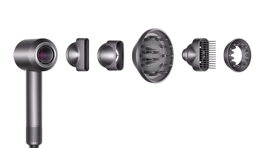 Dyson Supersonic avec les nouveaux accessoires