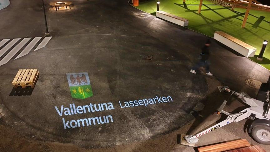 Lasseparken, lekplats i centrala Vallentuna