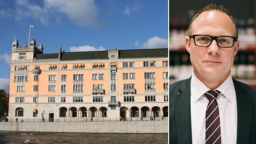 Björn Hellman, vd Livsmedelsföretagen, efterlyser en minister med helhetsansvar för livsmedelskedjan